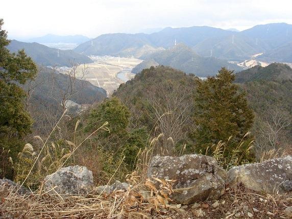 天守台からの眺望1