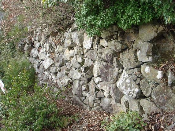 西の丸石垣1