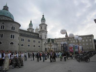 旧レジデンツと大聖堂