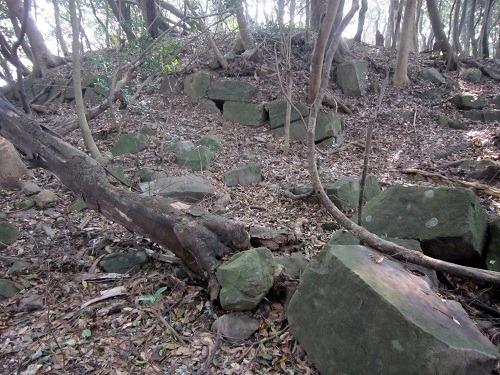 12本丸石垣