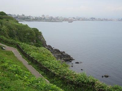 立待岬から函館市街を