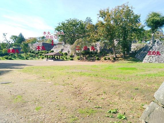 盛岡城全景