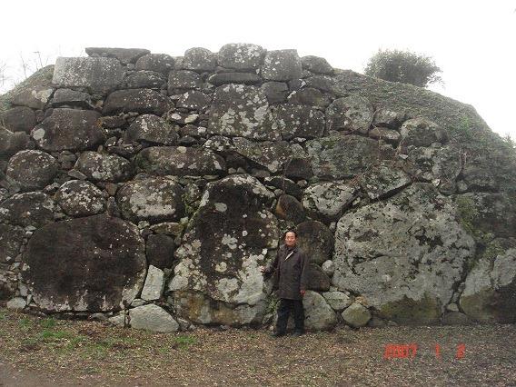 三の丸南西隅櫓鏡岩