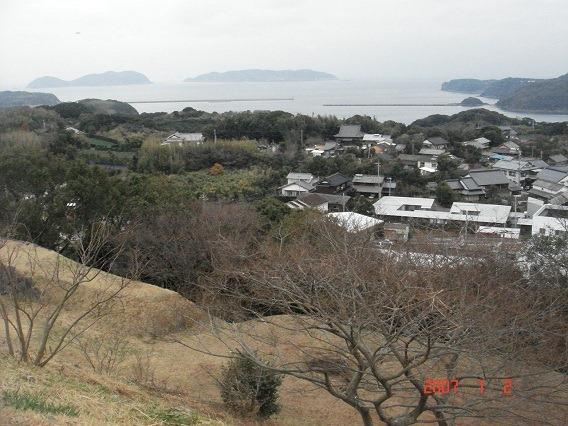 35天守跡からの眺望