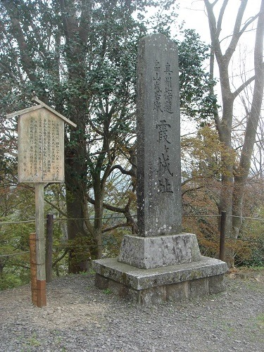 本丸西面石垣 (2)