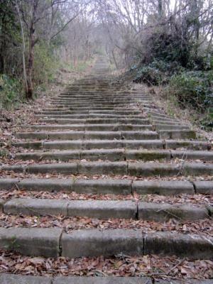 02登城道石段