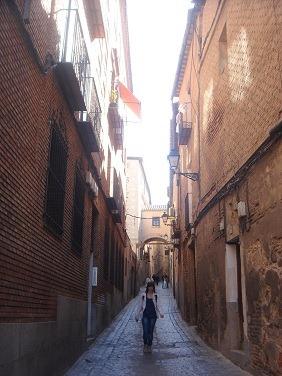 トレド旧市街の小道2