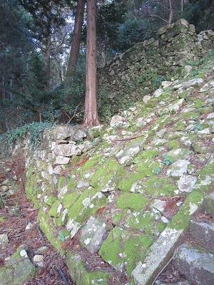 3石段から高石垣を