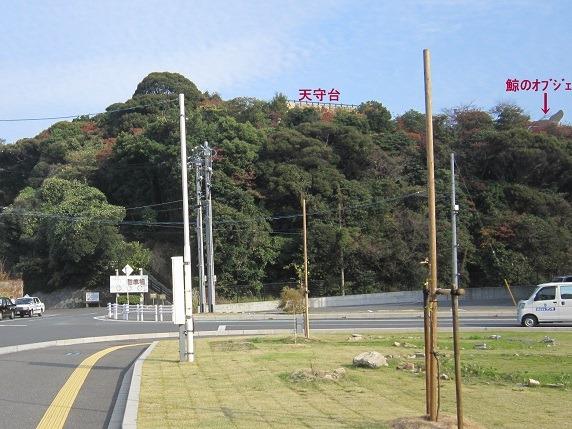 櫛崎城全景