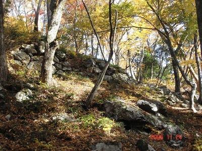 山王丸正面の石垣