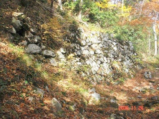 32山王丸側面石垣