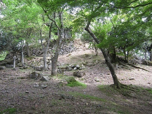 05ホウヅキ段の石垣