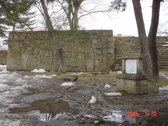 北出丸脇櫓台