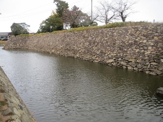 35南面石垣と堀1