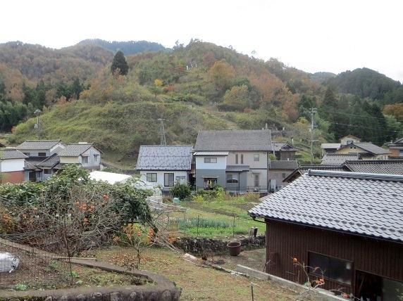 朝倉城跡全景