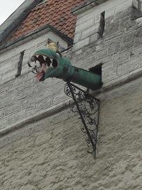 タリン市庁舎ドラゴン