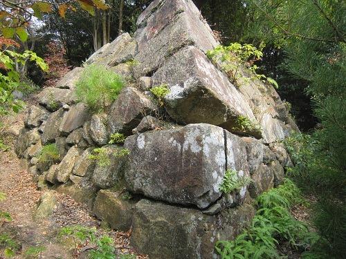 27南三の丸櫓台角石垣