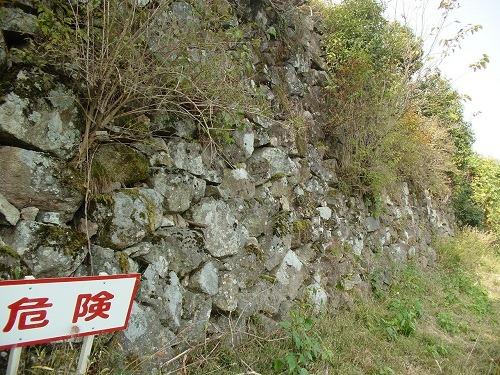 13鴉丸石垣