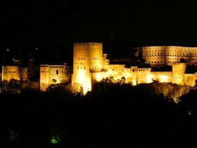 アルハンブラ夜景