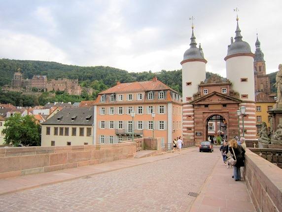 ハイデルブルク城とブリュッケントーア