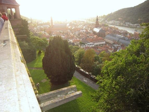 21ハイデルベルク城からの眺望1