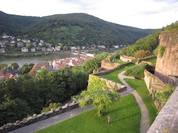 23ハイデルベルク城からの眺望3
