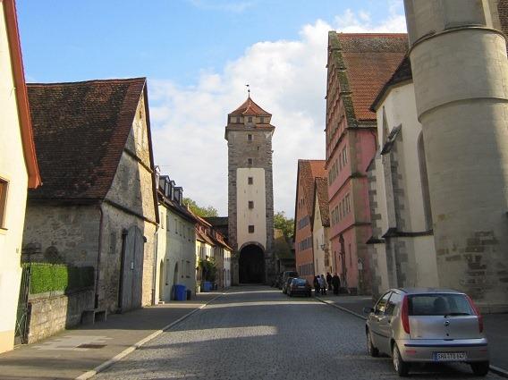 シュピタール門の塔