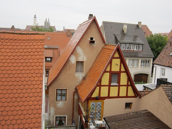 城壁からの光景