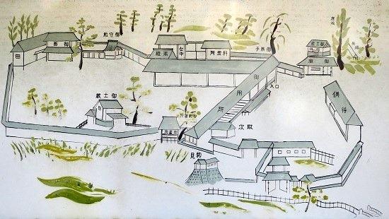 伊豆木陣屋絵図