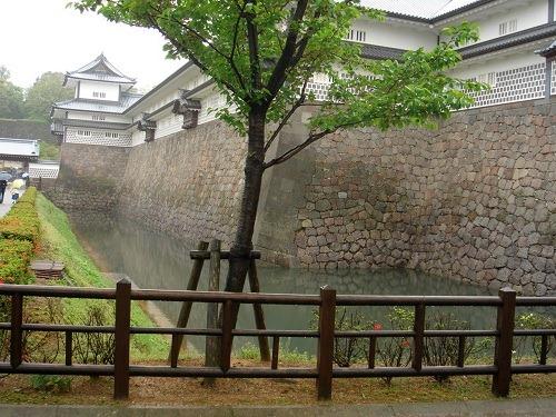 37二の丸東面の堀