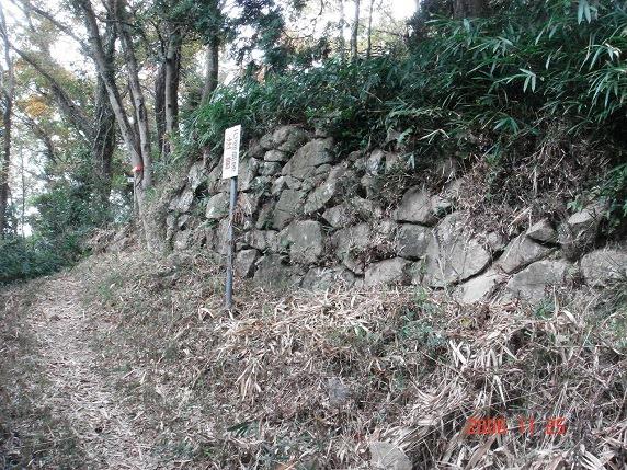 二の丸南西部石垣