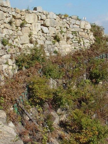 屏風折れの石垣2