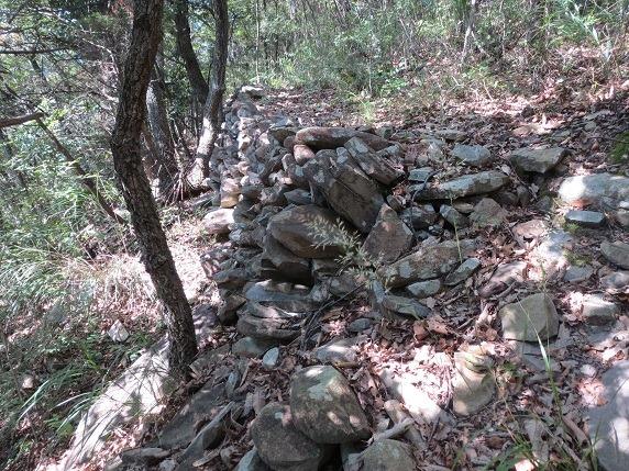 33二の丸西側石垣