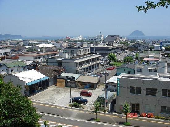 37亀首櫓跡からの眺望