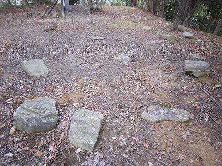 38本丸礎石