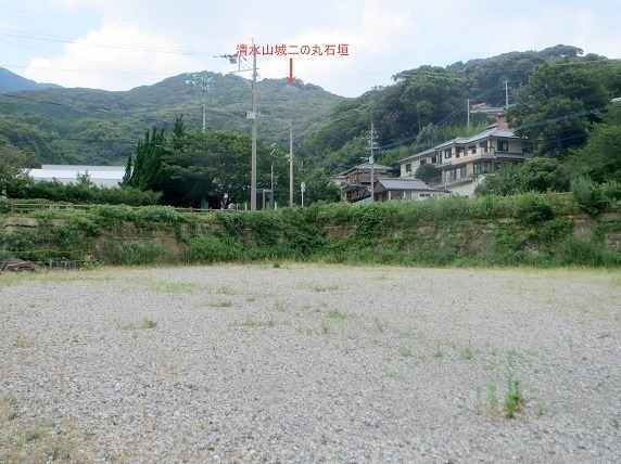 清水山城遠景