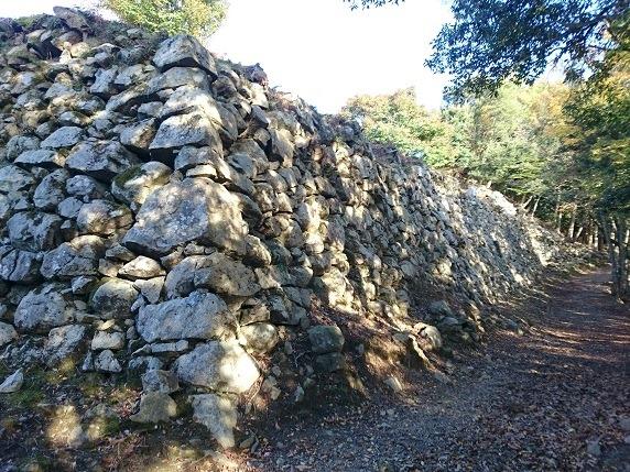 三の丸南面石垣