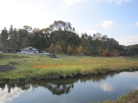川崎城遠景