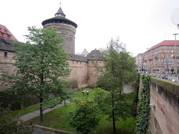 22ニュルベルクの城壁