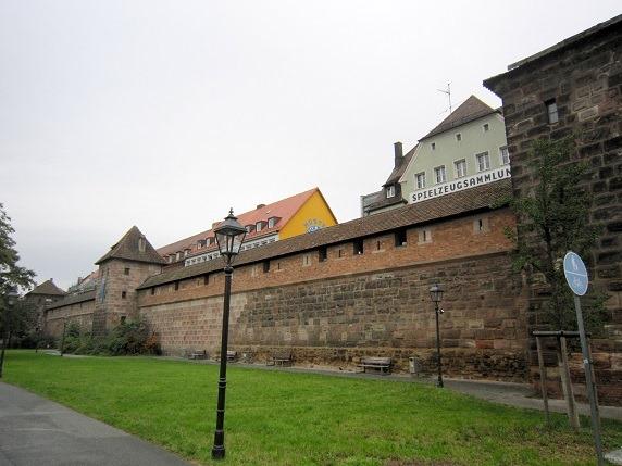 23ニュルベルクの城壁
