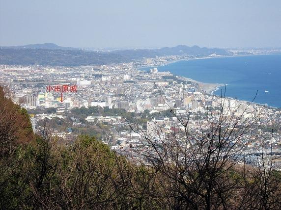 小田原城遠景1