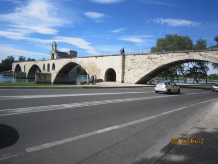 アヴィニョンサンベネゼ橋