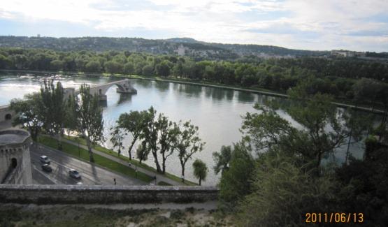 ロシュ・デ・ドン公園からの眺望