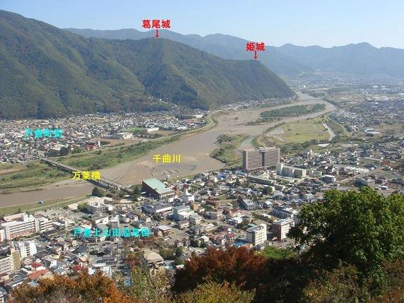 荒砥城からの眺望1