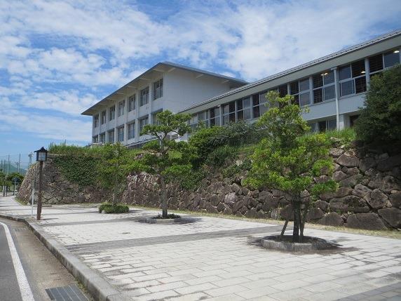 二の丸北面石垣2