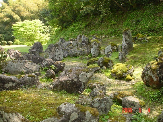 17湯殿跡庭園