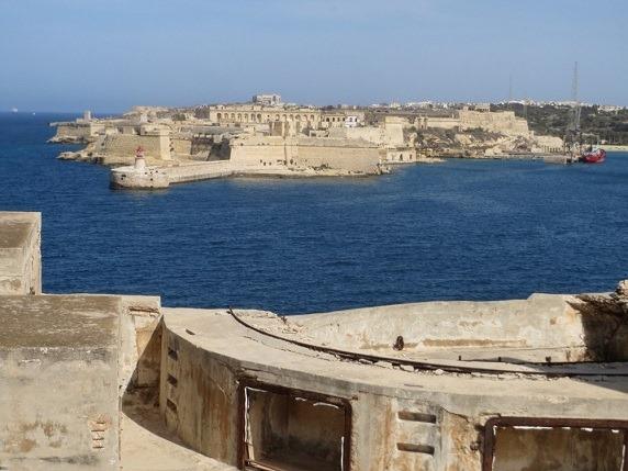 聖エルモ砦からリカゾーリ砦を