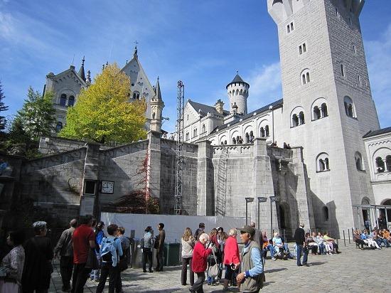 ノイシュバンシュタイン城中庭