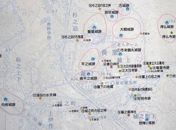 00市来城全体地図