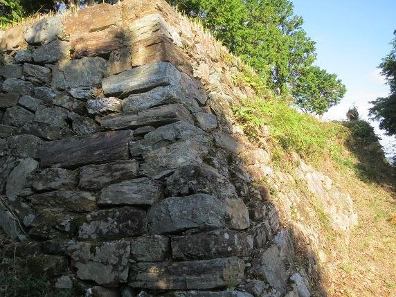 38本丸南面石垣